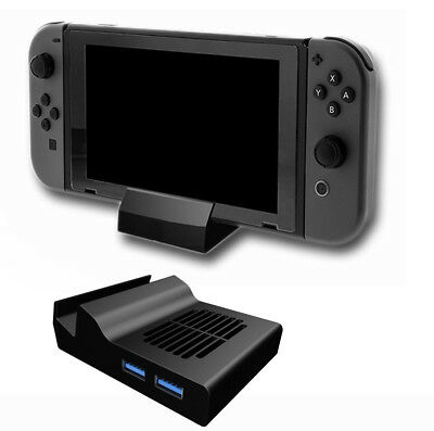 Mini Cooling HDMI TV PCBA Charging Dock Station Base for Nintendo Switch Console