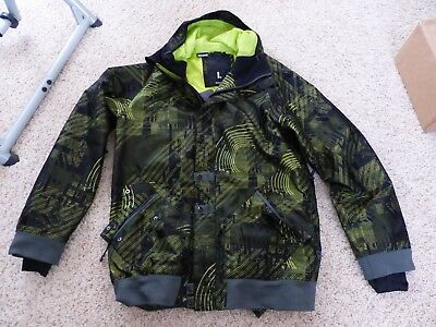 2851759b68a8e OAKLEY MENS SKI Snowboard Jacket Green Black Size Large -  200.00 ...