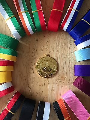 10x All Sports Multi Quality Metal Medals 50mm Free ribbons of your colour.