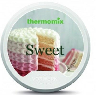 NEW Thermomix Cookbook Chip, SWEET RECIPE CHIP, UK IMPORT