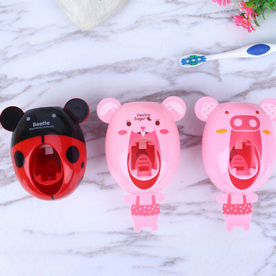 Plastic Cartoon Animal 6 Pattern Squeezing Holder Convenient Kawaii Practical