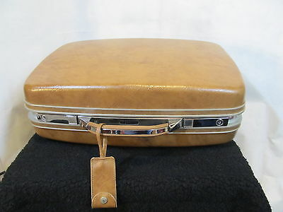 "Vintage Samsonite Profile II Suitcase Luggage Brown 20"" x 15"" x 6"