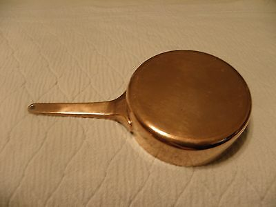 High quality copper sauce pan or butter warmer