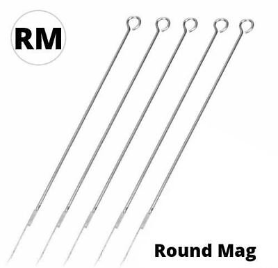 Premium Quality ROUND MAGNUM Tattoo Needles 5RM- 15RM RM **PACKS OF 5 - 100** UK