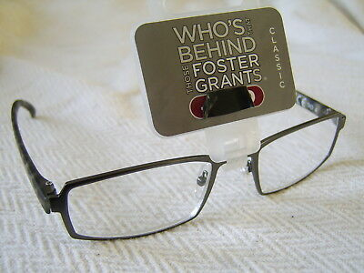 "Foster Grant""Barrie""Metal Framed Reading Glasses RRP £18.50 Now £5.99..."