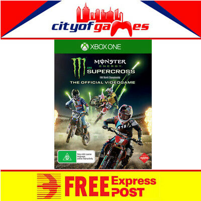 Monster Energy Supercross The Official Videogame Xbox One Game New In Stock