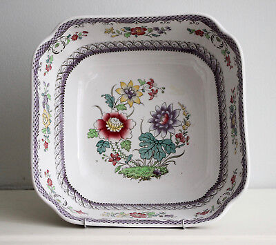 Rare COPELAND SPODE Ceramic China 'Imari' Fruit Bowl, Rn 646542, Circa 1915