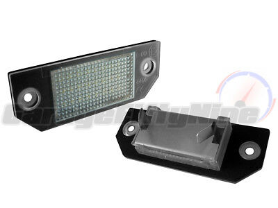 Ford 18 LED Number Plate Lights Licence Units Focus 03-08 ST Zetec-S C-Max 03-11