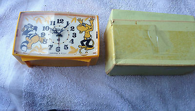 "Vintage USSR ""The One Who Lives in the Lake"" Alarm Clock - NON WORKING"