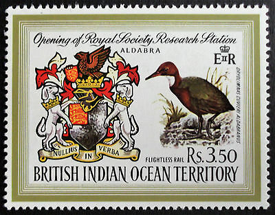(A090) B.I.O.T 1971 Rs3.50 Research/Birds SG40 (1) MNH.