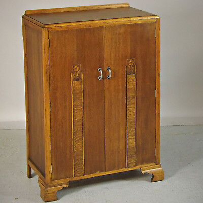 Art Deco Wardrobe - Compactum, Cupboard, Oak, 1930s (delivery available)