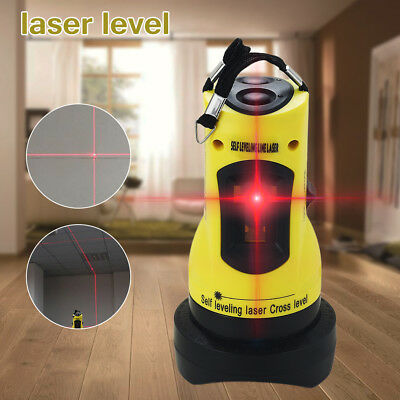 ZH-SL202 110° Self-leveling Cross Laser Level Red 2 Line 1 Point With Tripod