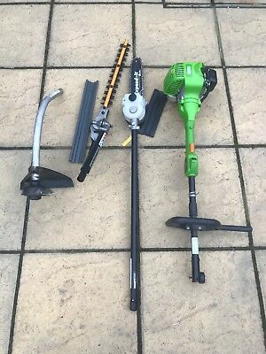 petrol garden multi tool Strimmer Hedge Cutter Chainsaw Attachments