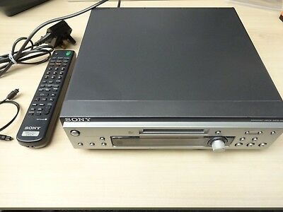 Sony MDS-S9 Mini Disk Player / Recorder Boxed with Remote