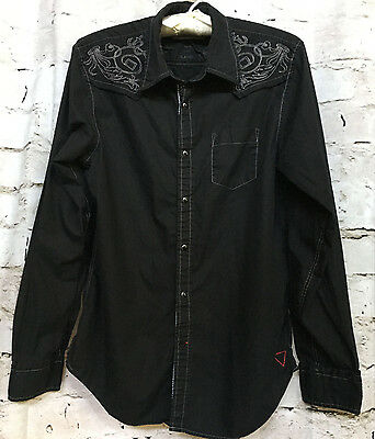 Super Nice Mens'  Guess Vintage Shirt, Size Large