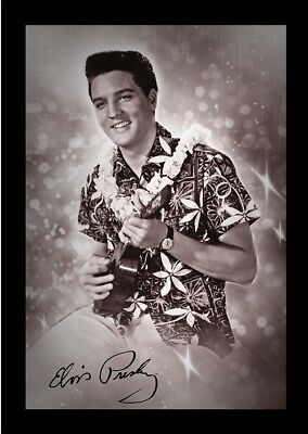 ELVIS PRESLEY BLUE HAWAII 13x19 FRAMED GELCOAT POSTER MUSIC LEGEND ICON ROCK NEW