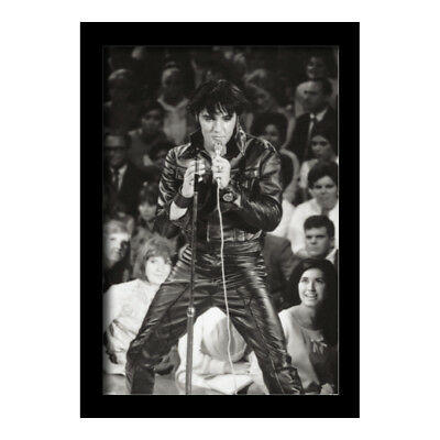 ELVIS PRESLEY 1968 COMEBACK SPECIAL 13x19 FRAMED GELCOAT POSTER MUSIC LEGEND NEW