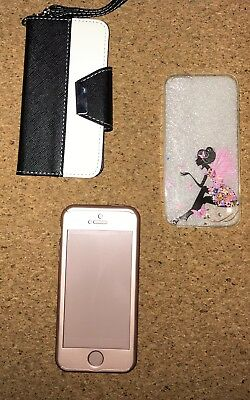 Apple iPhone 5 / 5s Lot Of 3 Covers Cases Ultra-thin Hard, Leather Wallet Folio