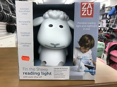 Zazu Fin The Sheep Nightlight Grey