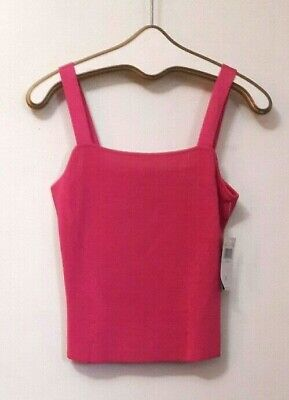 b75e8845b682c8 DANA BUCHMAN CAMI Top Women s Size Small Silk Pink New Nwt Msrp  140 ...