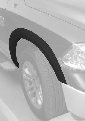 Crack Resistant Fender Flares Dodge Ram 2009-2018 1500 OEM Black Paintable NEW