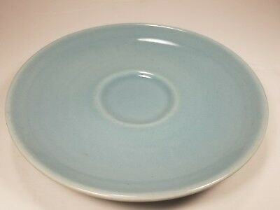 Vintage Iroquois Casual China by Russel Wright Ice Blue or Turquoise Saucer