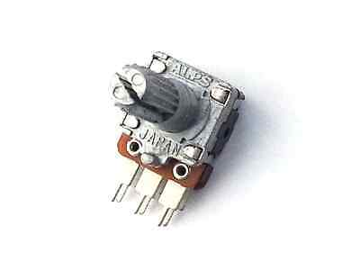 2x  ALPS Potentiometer 50k Linear Dual Pot - Made in Japan - 50KB Lin - NOS