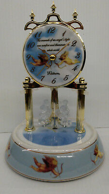 Waltham Angel Anniversary Clock - Battery Operated
