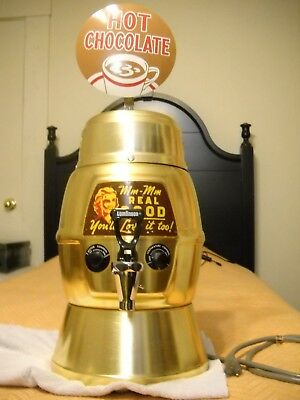 Vintage Electronically Restored Helmco Hot Chocolate Dispenser