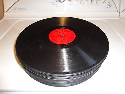 Lot Of 25...vintage 78 Rpm Records...various Artists And Labels