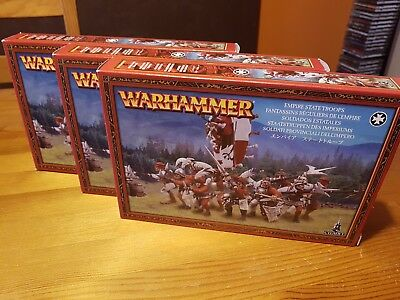 Warhammer - Age of Sigmar - Freeguild Guard - Free People/Empire 30 Miniaturen