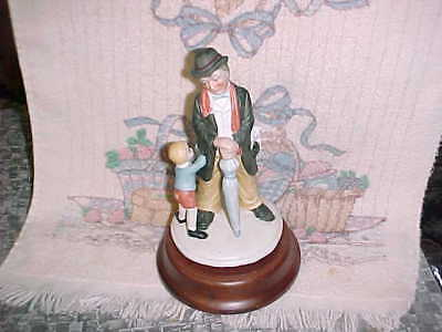 """Vintage Price Products Rotating Music Box Porcelain """"Pocket Full of Miracles"""""""