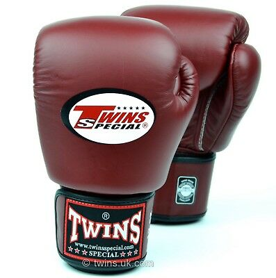 Twins Special Bgvl-3 Maroon 14oz Muay Thai/ Boxing Gloves