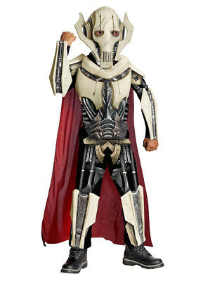 Child Star Wars Deluxe General Grevious Costume Rubies 884521