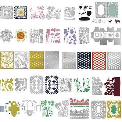 Metal Cutting Dies Cut Stencil DIY Scrapbooking Photo Album Paper Card Cover New