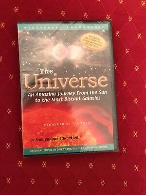 The Universe: An Amazing Journey From The Most Distant Galaxies DVD New Sealed