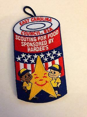 BSA East Carolina Council - Scouting For Food Patch - Hardee's