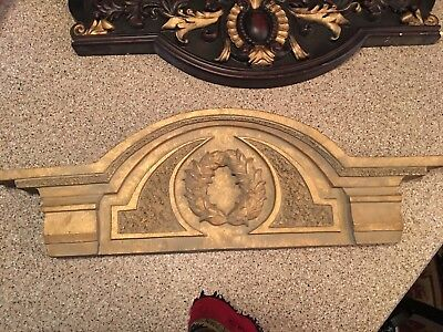 Vintage Door Window Header Pediments Architectural