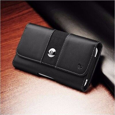 Rugged Horizontal Mobile Cell Phone Pouch Case Holder Holster Carrying Belt Clip