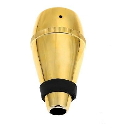 Trumpet Straight Practice Cup Mute Lightweight Silencer Random Color Q3N9