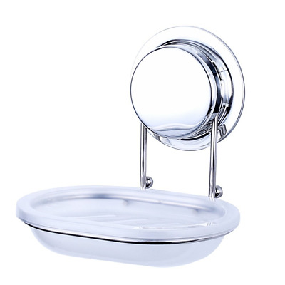 Ecoart Soap Dish Sponge Holder with Super Powerful Suction Cup or Screw for ...