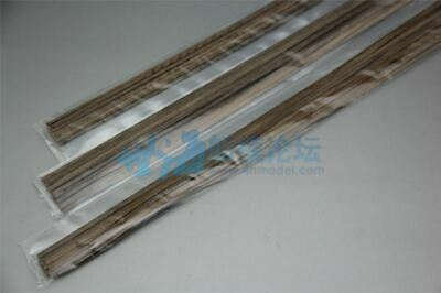 Boxwood strips 1x5x300mm Multiple size for Wooden ship planking Pack of 20