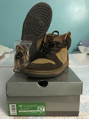 2003 Nike Dunk High Pro SB BROWN PACK MAPLE HAY BAROQUE WHEAT size 10.5