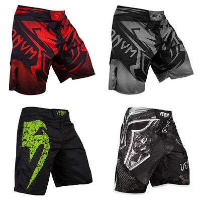 Men Muay Thai Shorts Fight Boxing Sport Gym Soccer Casual Fitness Pants