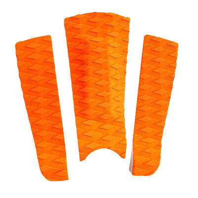 68872c60e5 3PIECE TRACTION SURFBOARD Tail Pad Deck Grip Mat Shortboard ...