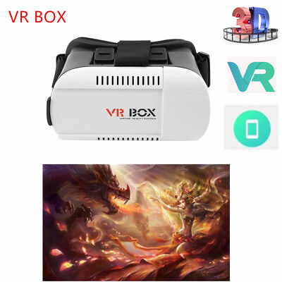 VR Box 3D HD Virtual Reality Brille Headset Bluetooth Controller IOS Android  OK