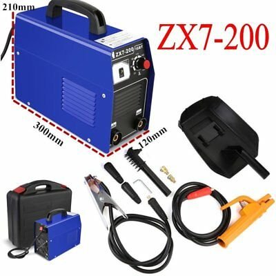 200AMP Welding Inverter Machine MMA/ARC Portable Welder ZX7-200 IGBT DC UK SHIP