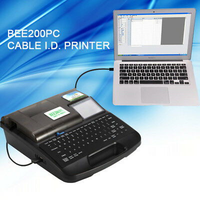 BEE200PC Cable ID printer wire printer tube printing machine Cable marker