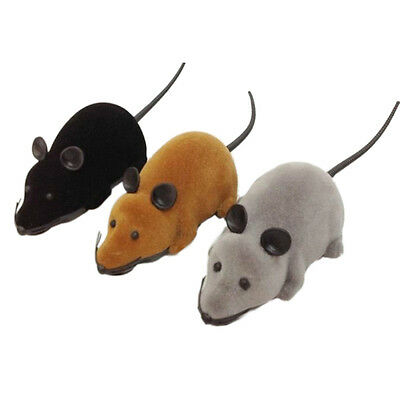 Wireless Remote Control RC Electronic Rat Mouse Mice Toy For Cat Puppy Gift AOW7