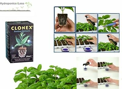Clonex Rooting Hormone Gel For Cuttings 50ML Hydroponics Grow Nutrients